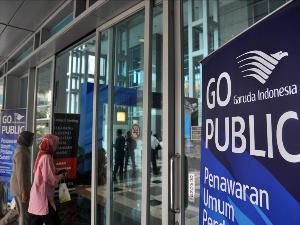 garuda indonesia go public